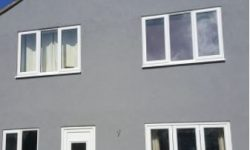 Silicone thin coat render